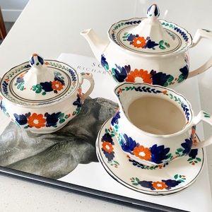 Vintage Allertons Thorley Ware porcelain tea set
